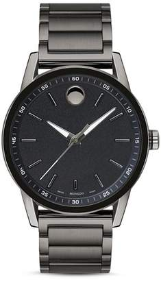 Movado Museum Sport Gunmetal-Tone Watch, 42mm