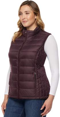 Heatkeep Plus Size HeatKeep Packable Puffer Vest