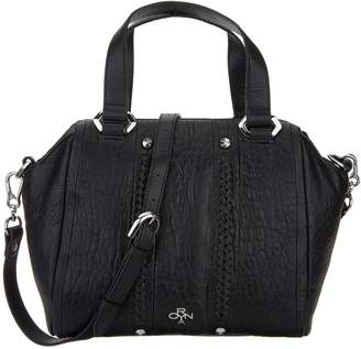 Oryany Lamb Leather Satchel Handbag - Nola