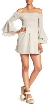 Amanda Uprichard Beachwood Off-the-Shoulder Dress