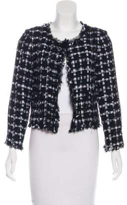 Chanel Lesage Gingham Jacket