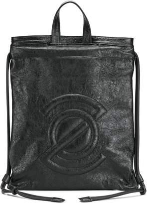 Zanellato logo embossed backpack