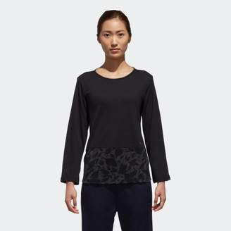 adidas (アディダス) - W SPORT ID カモフラージュグラフィックロングスリーブTシャツ