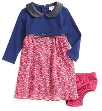 Infant Girl's Us Angels Mixed Media Dress $49 thestylecure.com