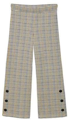 MANGO Prince of Wales trousers