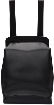 The Row Black Molded Backpack