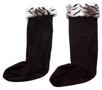 HunterHunter Logo-Accented Fleece Socks