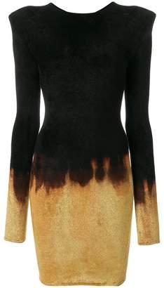 Balmain Fire dress