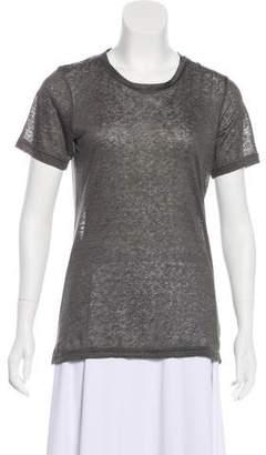 Isabel Marant Short Sleeve Linen T-Shirt