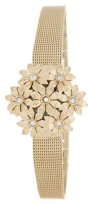Anne Klein Women's Mother of Pearl Dial Mesh Bracelet Watch, 20mm