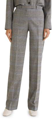 MANGO Alfama Checked Suit Pants
