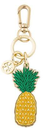 Tory Burch Pineapple Travel Keychain