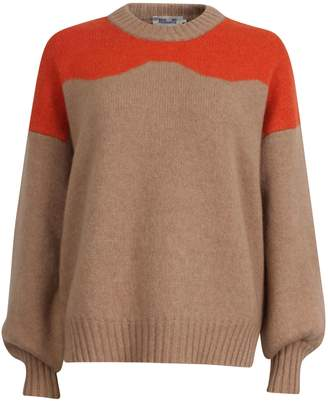 Baum und Pferdgarten It Takes A Family Oversized-Fit Cirkeline Wool Blend Sweater