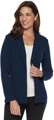 Briggs Women's Shawl Collar Stretch Blazer