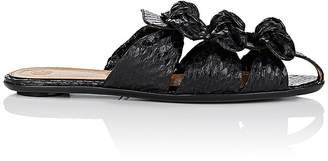 The Row Women's Capri Snakeskin Mules
