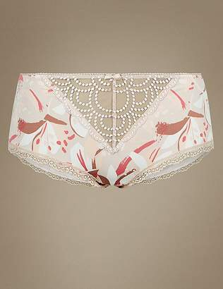 Marks and Spencer Floral Print Shorts