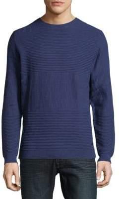 HUGO BOSS Ribbed Crewneck Sweatshirt