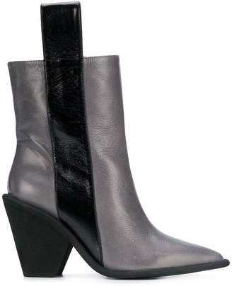 Paloma Barceló pointed toe ankle boots