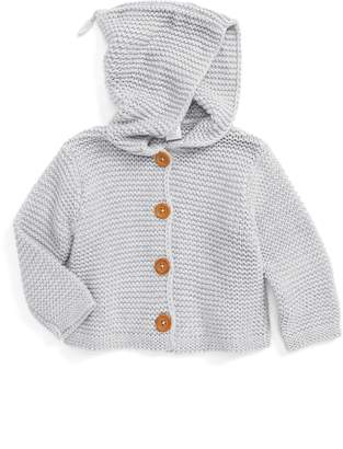 Nordstrom Organic Cotton Hooded Cardigan