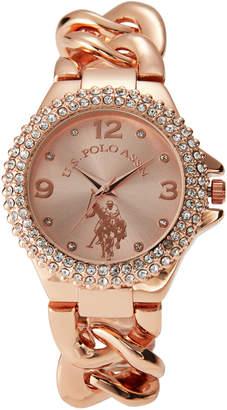U.S. Polo Assn. USC40226 Rose Gold-Tone Watch