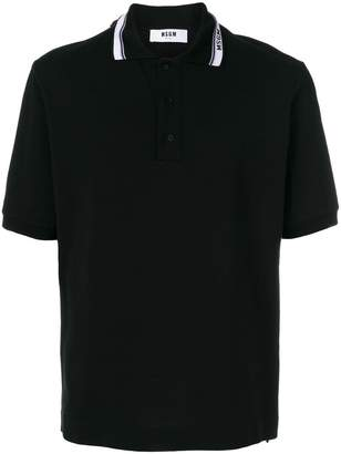 MSGM short sleeve polo shirt