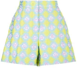 Emilio Pucci Jacquard Patterned Shorts