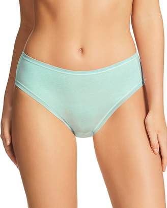 Fine Lines Pure Cotton Hi-Cut Briefs