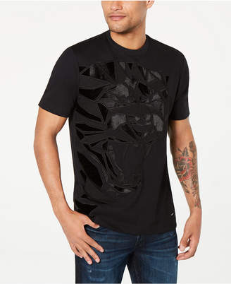 Sean John Men Pieced Panther Graphic T-Shirt