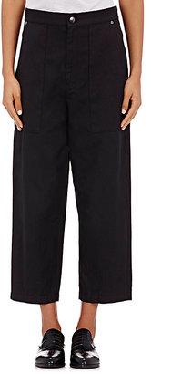 Helmut Lang Women's Drop-Rise Crop Pants $390 thestylecure.com