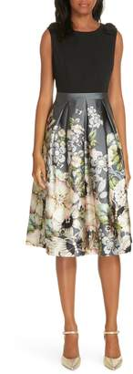 Ted Baker Molyka Gem Gardens Bow Dress