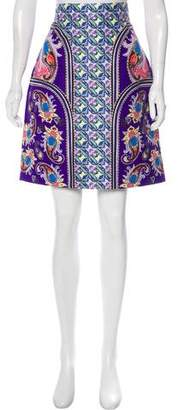 Mary Katrantzou Elpida Printed Skirt w/ Tags