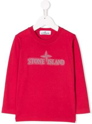 Stone Island Junior long-sleeve T-shirt
