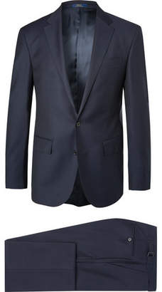 Polo Ralph Lauren Navy Slim-Fit Wool-Twill Suit