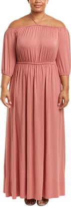Rachel Pally Plus Lorenza Maxi Dress