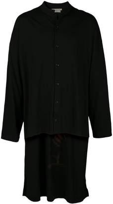 Yohji Yamamoto oversized printed shirt