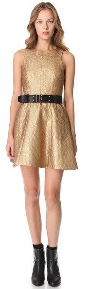 Rag and Bone Rag & bone Renard Metallic Dress