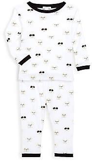 Baby Noomie Baby's & Little Kid's Bulldog Two-Piece Pima Cotton Pajama Set