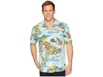 Polo Ralph Lauren Classic Fit Printed Camp Shirt Men's Clothing