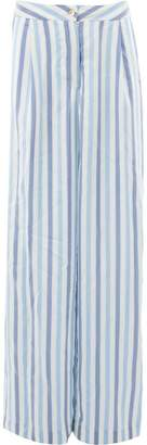 Thierry Colson striped wide-leg trousers