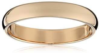 Light Comfort-Fit 14K Gold Band