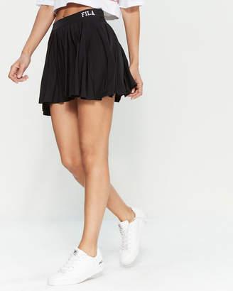 Fila Black Pleated Tennis Skirt