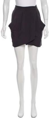 Diane von Furstenberg Mini Wrap Skirt