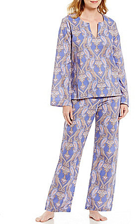 BedHeadBedHead Pashmina Paisley Voile Tunic Pajamas