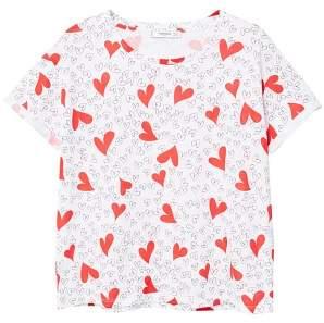MANGO Heart print t-shirt