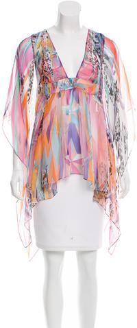 Emilio PucciEmilio Pucci Silk Printed Tunic w/ Tags