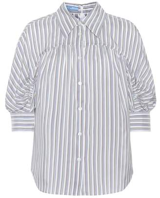 Prada Silk striped shirt