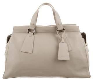 Giorgio Armani Leather Shopping Bag
