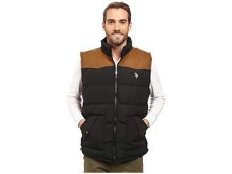 U.S. Polo Assn. Western Yoke Puffer Vest Men's Vest