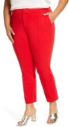 ELOQUII Stretch Knit Ankle Pants