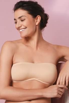 30fc4f0c08b73 Next Womens Nude Jamie Non Padded Minimising DD+ Bandeau Bra